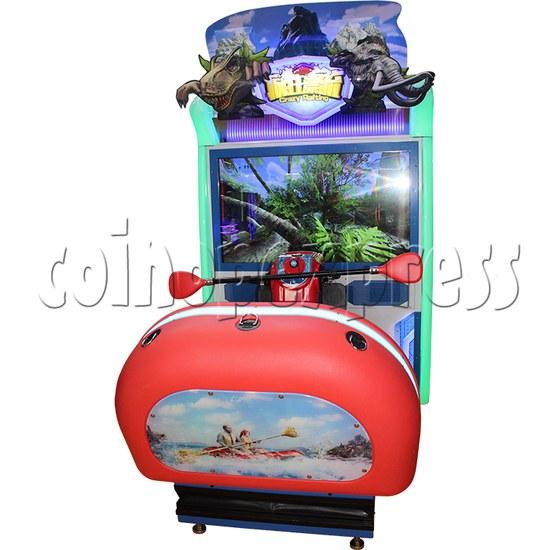 Crazy Rafting Arcade Machine front view