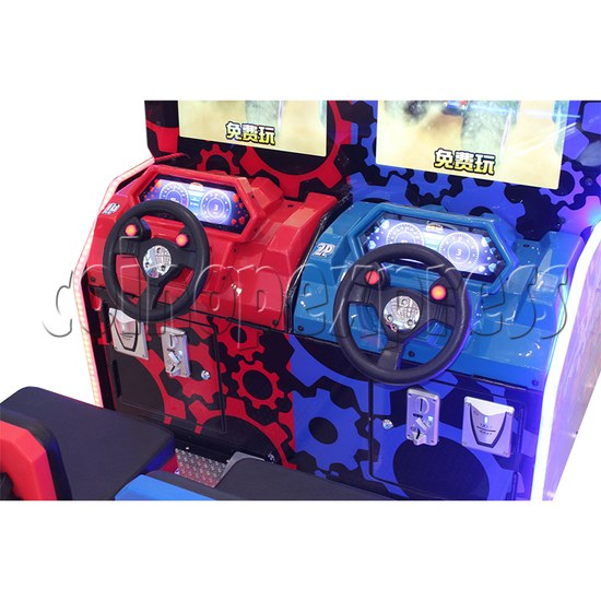 Monster Truck Racing Game Machine Twin controller
