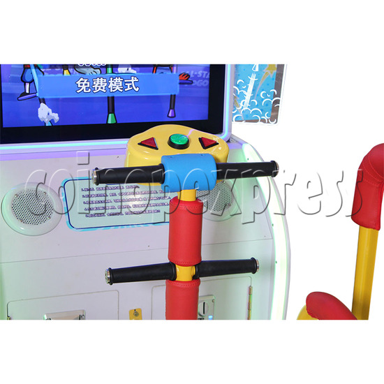All Star Pogo Jumping Racing Sport Game Machine controller