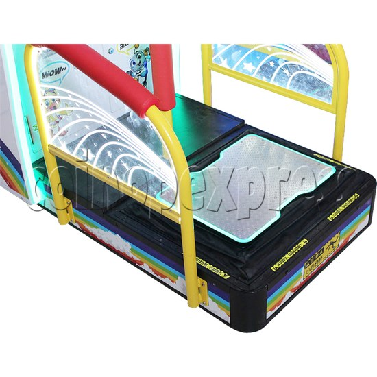All Star Pogo Jumping Racing Sport Game Machine hopping mechanism