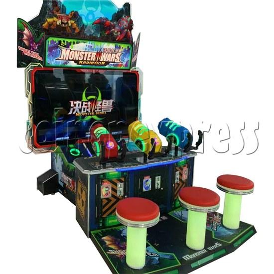 Monster Wars Radiation Simulative Shooting Game Machine side view