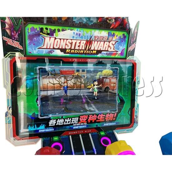 Monster Wars Radiation Simulative Shooting Game Machine screen