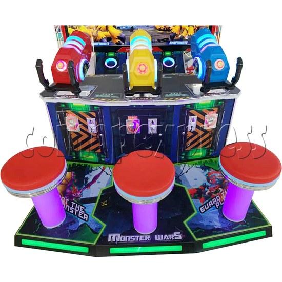 Monster Wars Radiation Simulative Shooting Game Machine seats