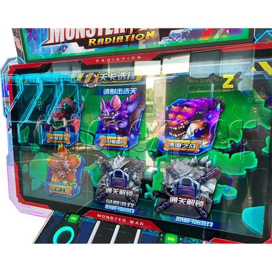 Monster Wars Radiation Simulative Shooting Game Machine screen display 1