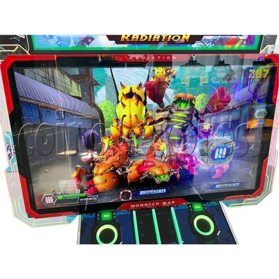 Monster Wars Radiation Simulative Shooting Game Machine screen display 2