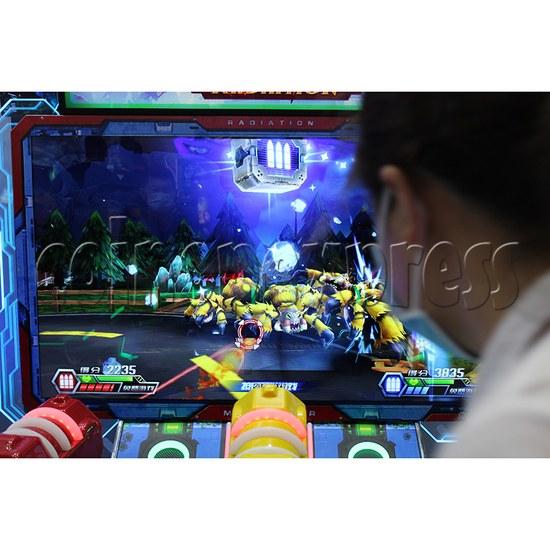 Monster Wars Radiation Simulative Shooting Game Machine screen display 3