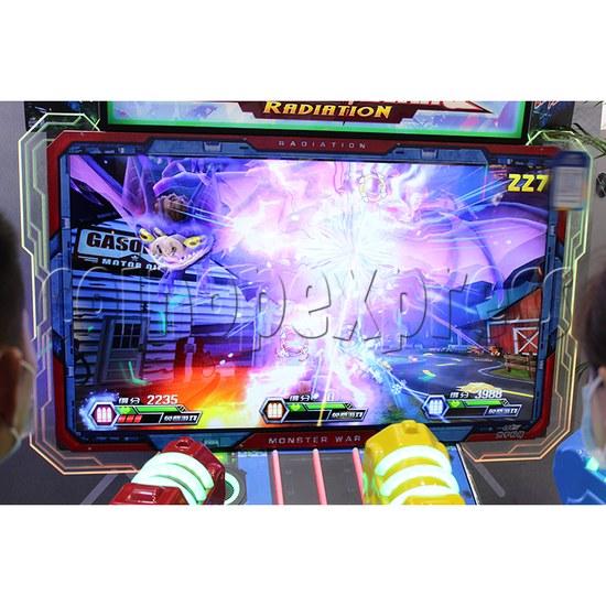 Monster Wars Radiation Simulative Shooting Game Machine screen display 4
