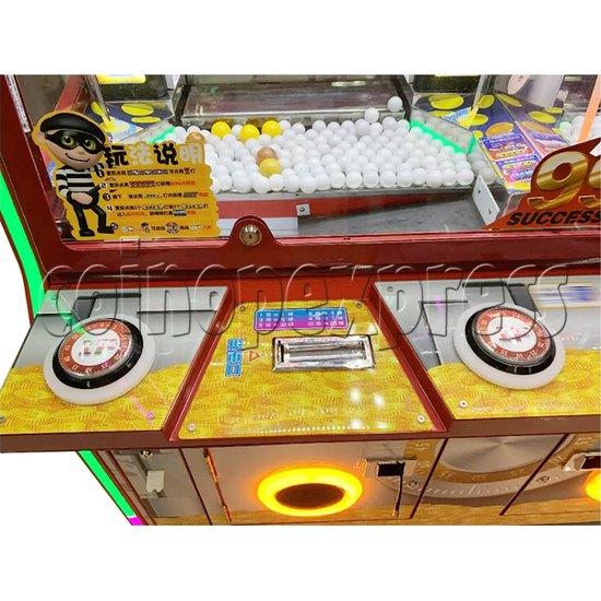 Break The Safe Ticket Redemption Arcade Machine control panel