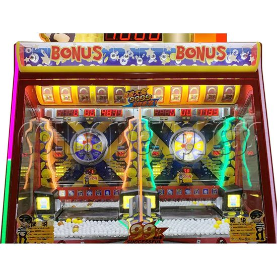 Break The Safe Ticket Redemption Arcade Machine playfield 1