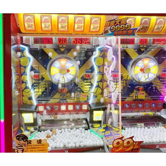 Break The Safe Ticket Redemption Arcade Machine playfield 2