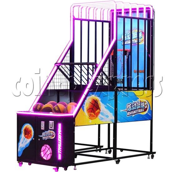 Storm Shot 2 Basketball Arcade Ticket Redemption Game Machine single machine