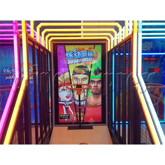 Storm Shot 2 Basketball Arcade Ticket Redemption Game Machine basketball hoop