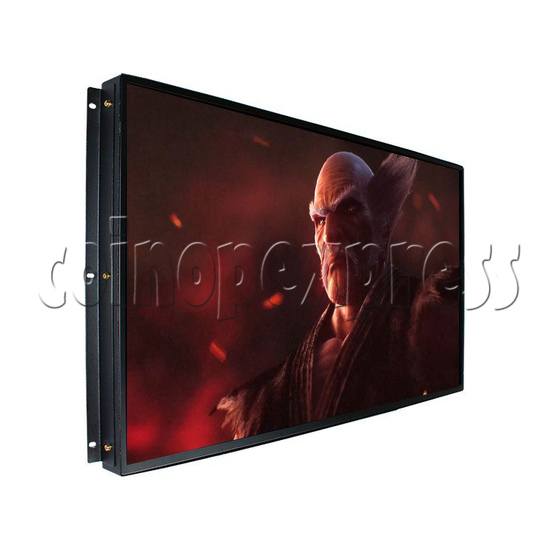 32 inch Arcade LCD Monitor BOE 1080P left view