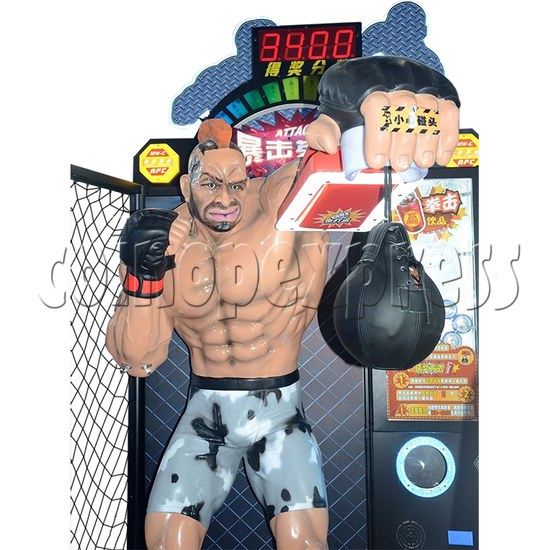 Attack Heroes Boxing Championship Prize Machine playfield