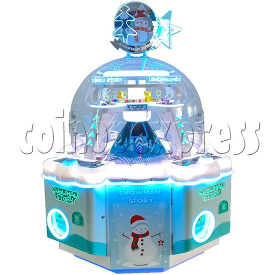 Snowman Story Prize Machine blue color