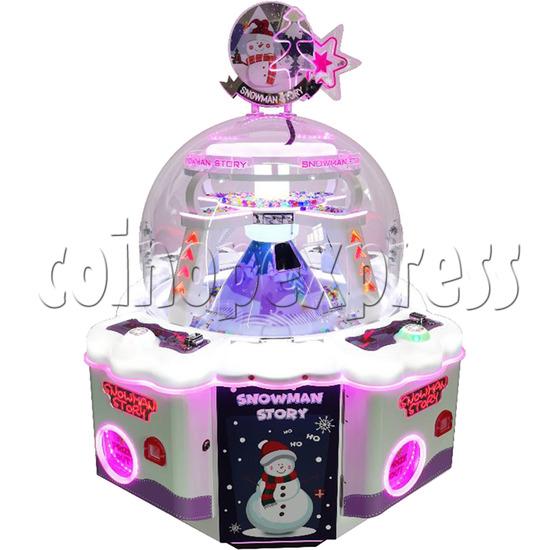 Snowman Story Prize Machine purple color