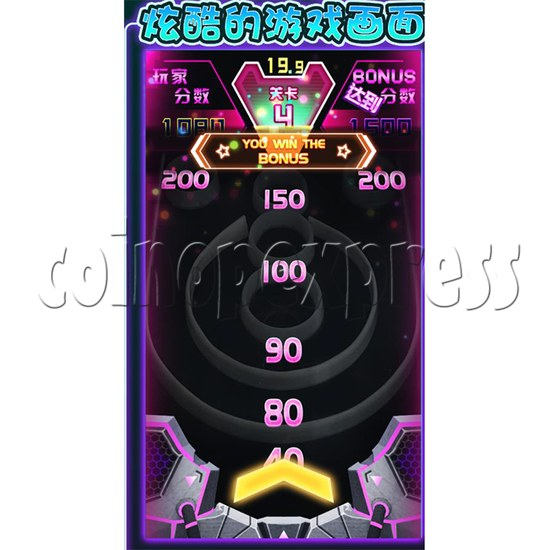 Roll A Ball Ticket Redemption Arcade Machine scorearea