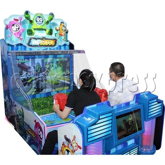 Seer Water Bomb Shooting Game Arcade Machine play view