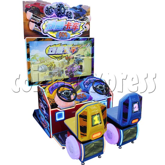 Crazy Car Video Driving Game Arcade Machine