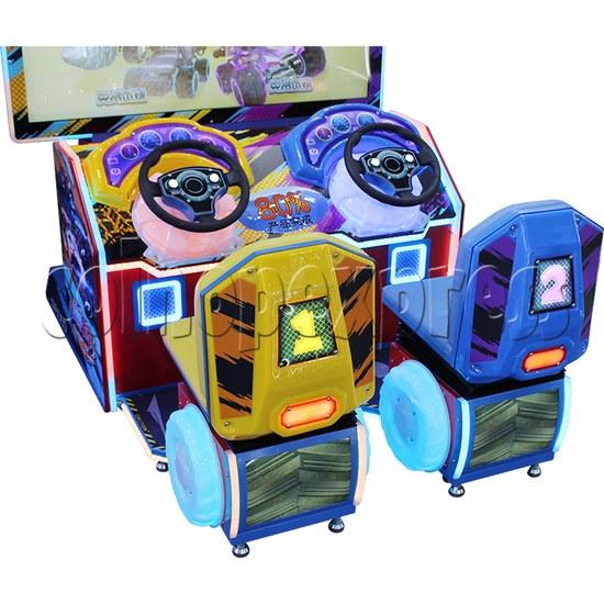 Crazy Car Video Driving Game Arcade Machine seats