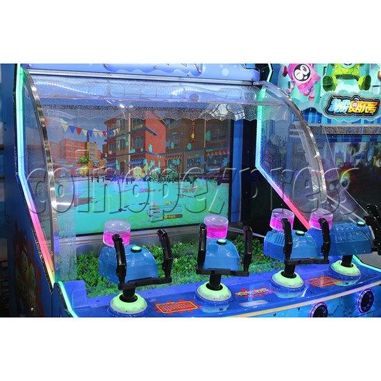 Crazy Graffiti Water Shooting Amusement Machine control panel