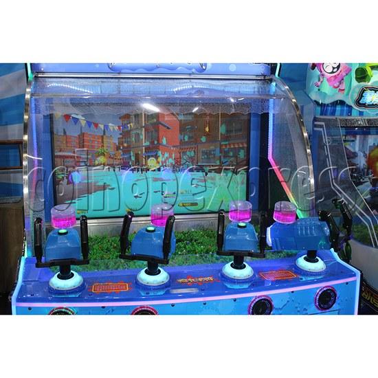 Crazy Graffiti Water Shooting Amusement Machine screen display