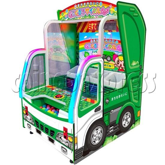 Envmt Guardians Arcade Machine right view