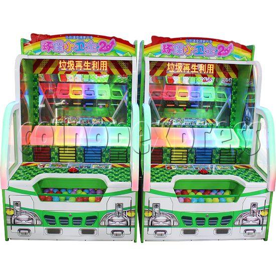 Envmt Guardians Arcade Machine front view