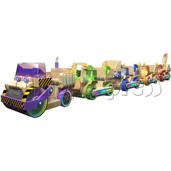 Engineering Truck Ride Machine