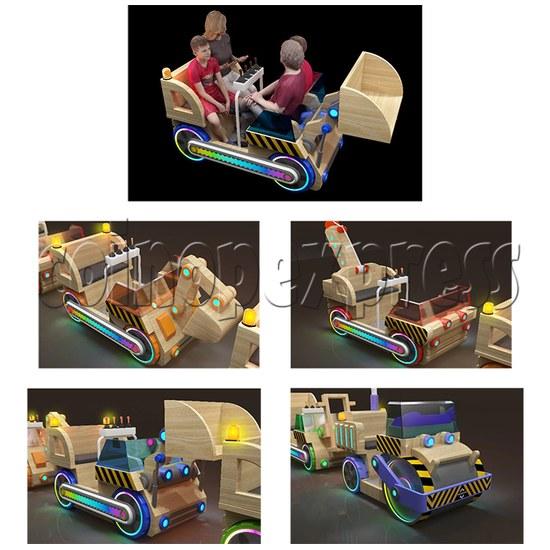 Engineering Truck Ride Machine details