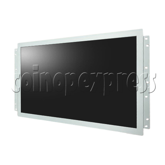 """LCD Screen 26"""" Open Frame front view"""