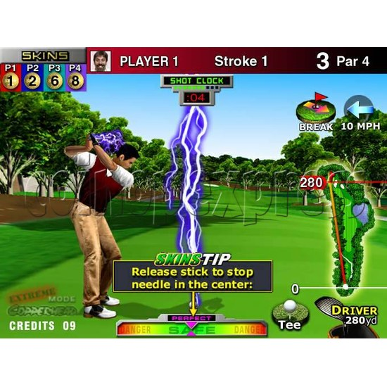 Skin Games (Midway Skins Golf Kit) - stop production 4188