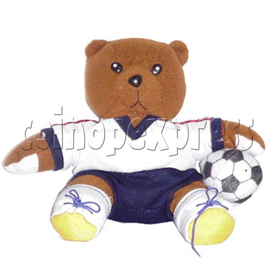 """8"""" Soccer Bear 4403"""