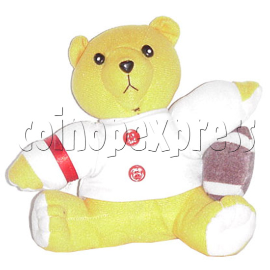 "7"" Bear with Football 4447"