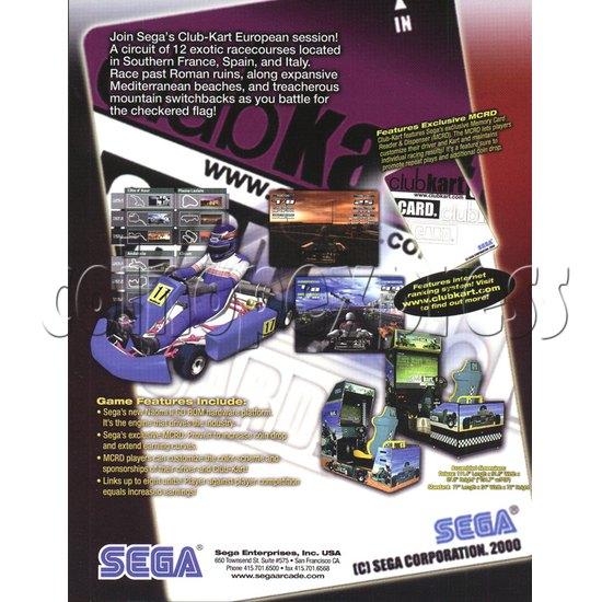 Club Kart twin 4708
