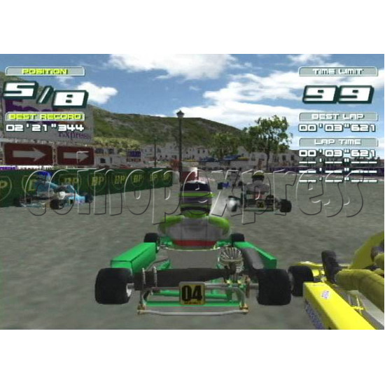 Club Kart twin 4709
