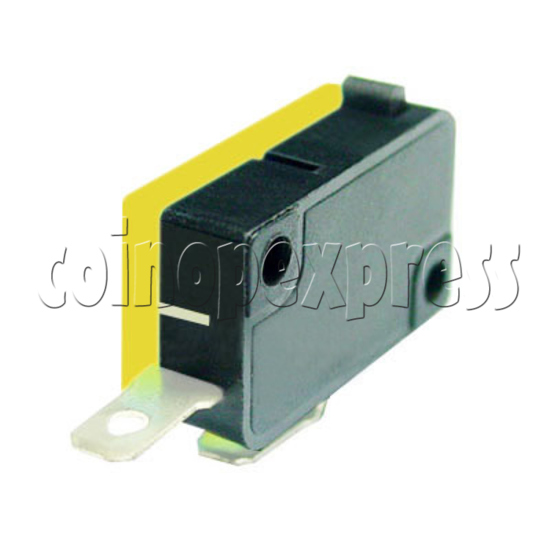 2 Terminals Microswitch with Button Actuator 4881