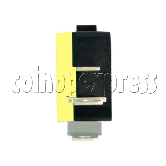 2 Terminals Microswitch with Button Actuator 4882