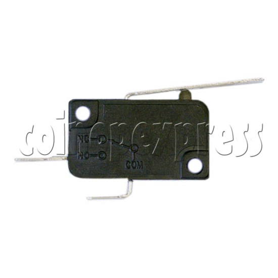 2 Terminals Microswitch with Auxiliary Actuator 5085