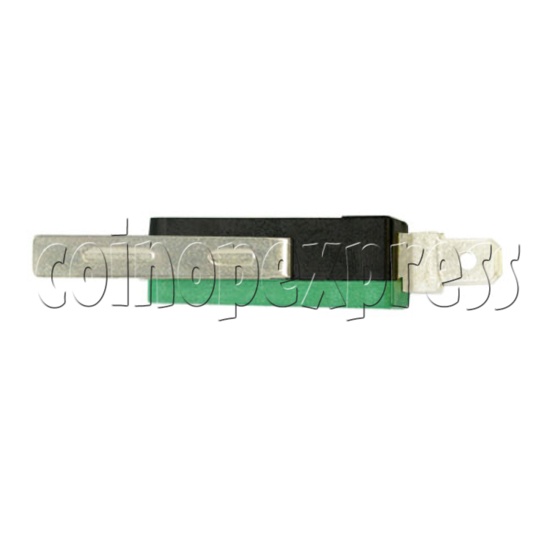 2 Terminals Microswitch with Auxiliary Actuator 5087