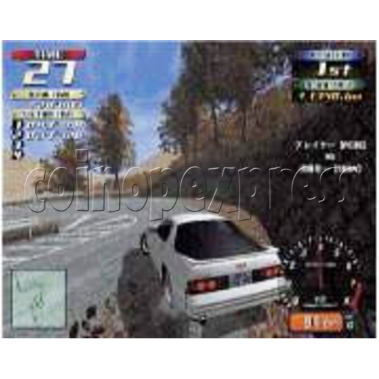 Initial D' arcade stage version 2 upgrade kit - stop production 5863