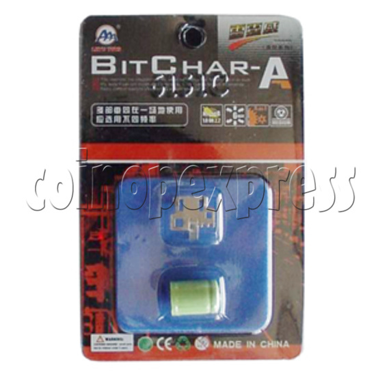 BitChar Car - Battery & Heat Sink 6633