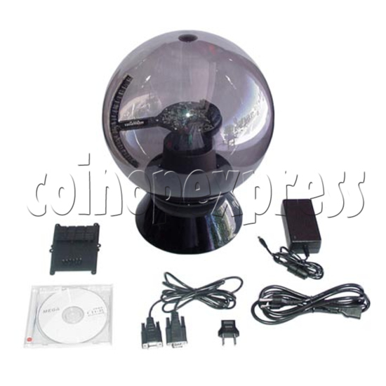 """Advertising LED Ball (iBall - 36"""" Red Color) 7147"""
