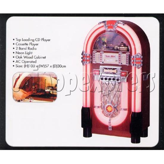 Hollywood Top CD Jukebox - Neon 7324