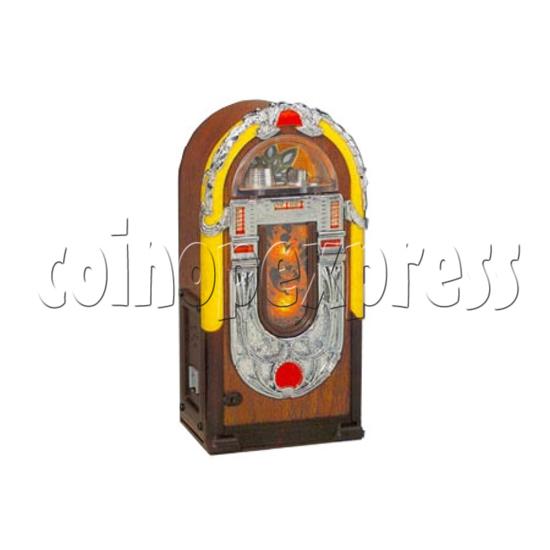 Mini Peacock Radio Jukebox 7345