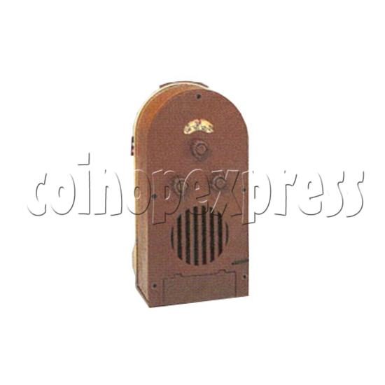 Mini Peacock Radio Jukebox 7346