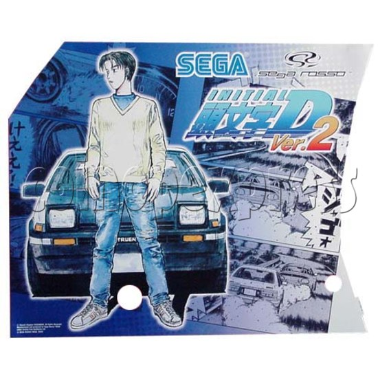 Initial D' arcade stage version 2 upgrade kit - stop production 7657