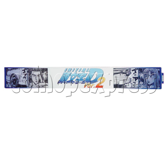 Initial D' arcade stage version 2 upgrade kit - stop production 7666