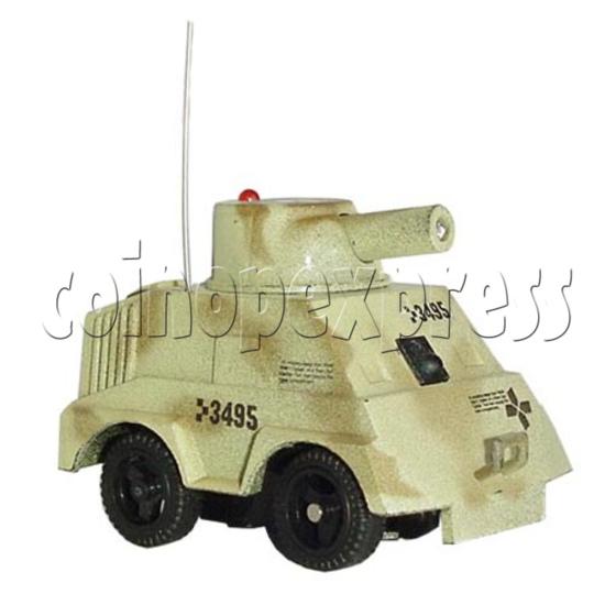 Mini Remote Control Combat Tanks 7670