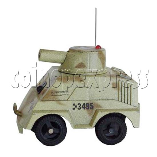 Mini Remote Control Combat Tanks 7672